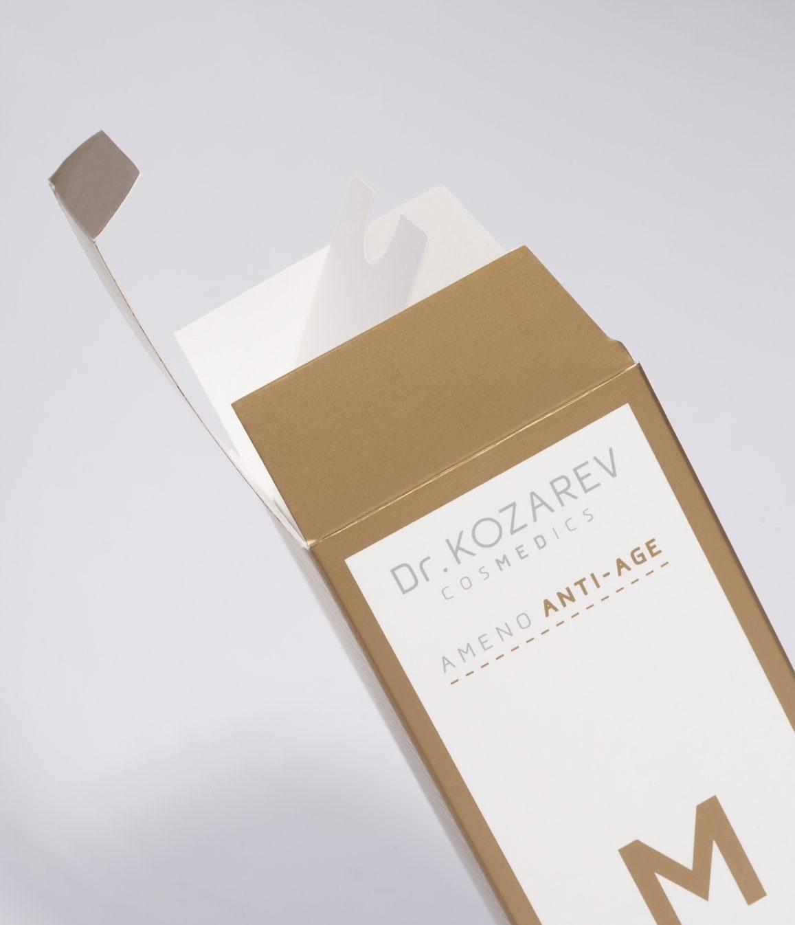 DrKozarev_Cosmetics_Shonski_packaging_AmenoAntiAgeLine_milk