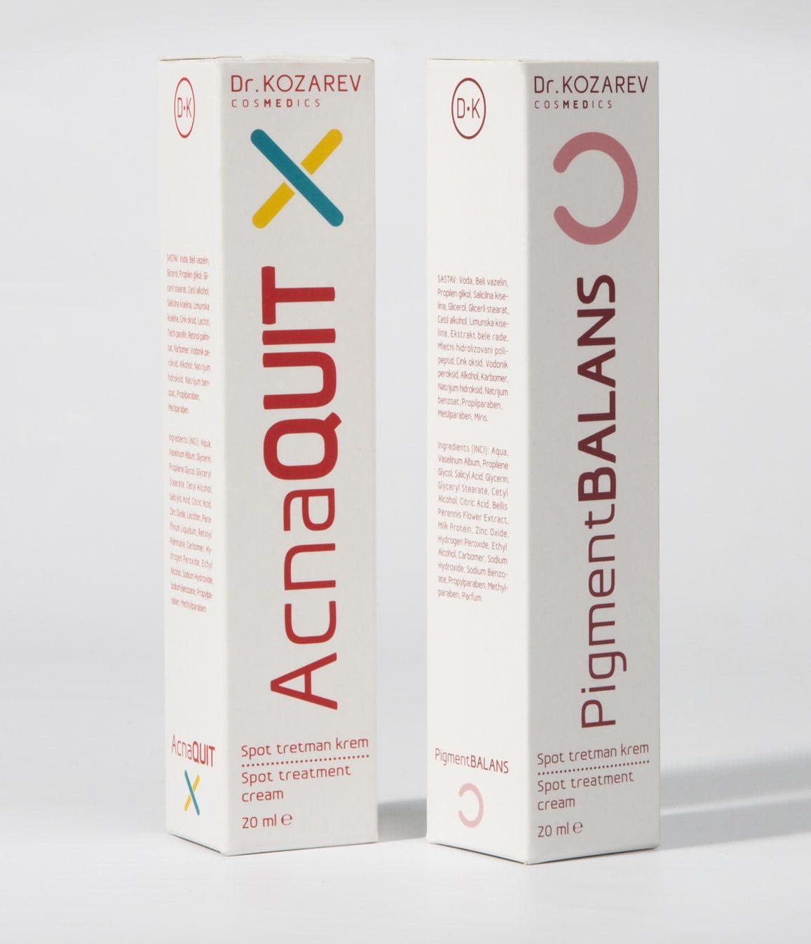 DrKozarev_Cosmetics_Shonski_packaging_MedBeautyLine_AcnaQuit_PigmentBalans